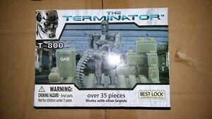Best Lock The Terminator T-800 Building Set 35PCS works w/ Lego