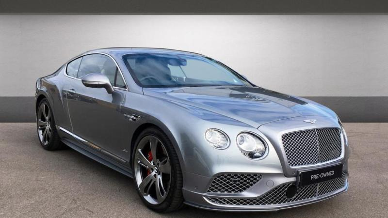 2017 bentley continental gt 6.0 w12 (635) speed 2dr automatic