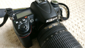 Nikon D7000 with 18-105,  Nikon Sb800 Flash