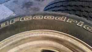"""UNIVERSAL 15"""" Eagle Alley Rims with BF Goodrich tires Kawartha Lakes Peterborough Area image 4"""