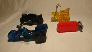 Vintage Avon Motorcycle Cologne Bottle Collection