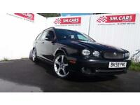2008 58 JAGUAR X-TYPE ESTATE 2.2D SE.STUNNING LOOKS & FACTORY EXTRAS.PX WELCOME.