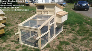 "Chicken Tractor | Deluxe Superior Quality 36""x80"" Chicken Coop"