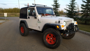 2003 Jeep TJ Wrangler command start
