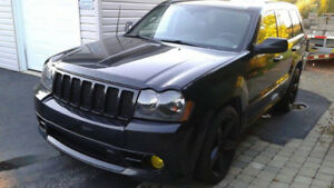 Grand Cherokee SRT 8 2007 155000 kl reconstruit