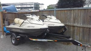 Vendu/Sold:  Two 2003 seadoo GTX Supercharged Limited (185hp)