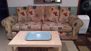 Sofa and chair set for sale