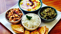 Indian Tiffin @ $5 (Pure Vegetarian Meal)