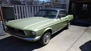 1968 Mustang Coupe for Sale Lady Owned Since New