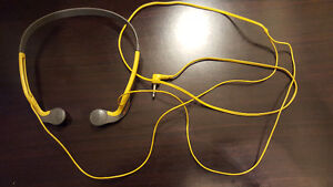 VINTAGE SONY MDR-W20G WALKMAN SPORTS STEREO LIGHTWEIGHT HEADPHON
