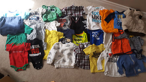 Baby boys clothes 0 to 12 months