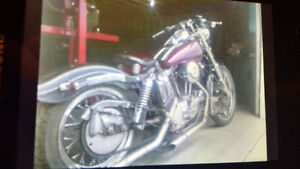 Parting out bobber sportster