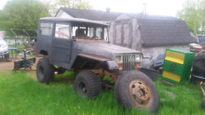 1975 fj40 land cruiser AS IS WHERE IS NEED GONE