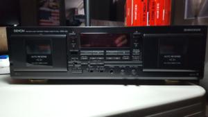 Tape deck  DENON DRW 580  enregistreur à cassettes