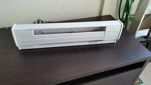 """Dimplex White Baseboard Heater 27""""L"""