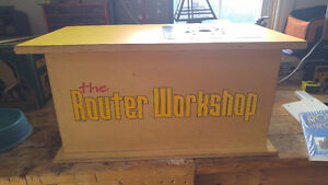 The Router Workshop Table and Router