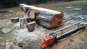 Urban Hardwood Salvage - Portable Saw Mill Operator