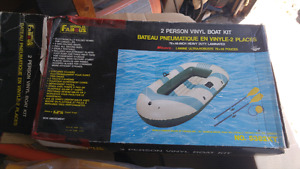 World Famous 2 person vinyl boat kit