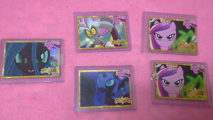 My Little Pony rare gold box topper cards series 1