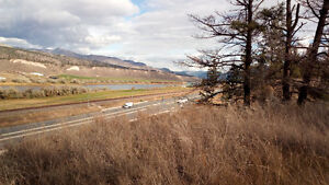 3.83 ACRE VIEW LOT 20 MIN EAST OF KAMLOOPS ON TRANS CANADA HWY.
