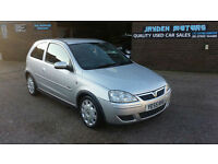 2005 55 VAUXHALL CORSA 1.2i 16v Design 3 DOOR ONLY 85000 MILES WITH HISTORY