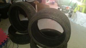 Bridgestone Turanza 255/35/18 & 225/40/18