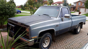 1984 GMC to go to loven family  . Serious  buyers only please .