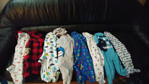 Baby Boy Sleepers 3-6 months