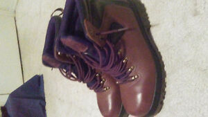 CSA approved steel toed boots