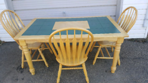STURDY & STYLISH TABLE SET...PRICE REDUCED.....