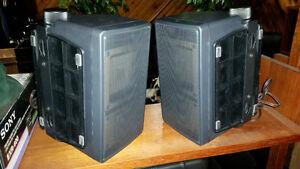 2 hauts-parleurs Sony 25w 8 ohms pour TV XBR comme neuf