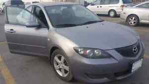 2005 Mazda 3 ...5 speed certified and etested..low km