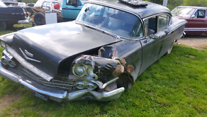 Looking for an entire front clip for a 1958 Biscayne