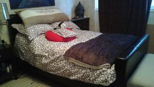 DOUBLE MATTRESS AND BED FRAME FOR SALE