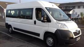 PEUGEOT BOXER 335 LWB 15-SEATER WITH WHEEL CHAIR ACCESS