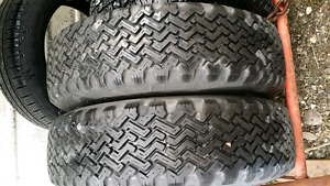 2 General P215 75R 15 tires for sale