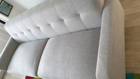 Sofa grey fabric