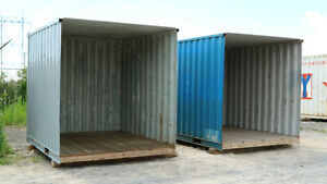 10ft Shipping Container.  Open end, great carport or garage