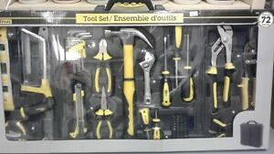 Brand New 72 Pieces Tool Set