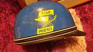 Star Phoenix Snowmobile Helmet  One of a kind from the 1950s