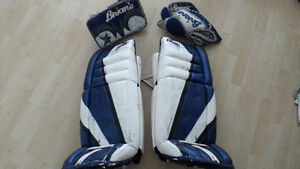 Goalie Equipment - Simmons 992 Pads and Brians Beast Gloves
