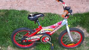 """Red 16"""" bike"""