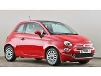 2018 Fiat 500 1.2 Lounge 3dr Hatchback petrol Manual