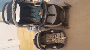 Graco fast action click connect stroller system