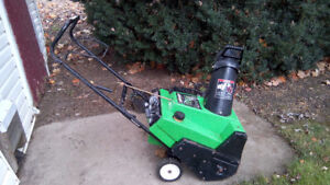 """20"""" 6.50 HP LAWNBOY SINGLE STAGE 2 CYCLE SNOW BLOWER OR THROWER"""