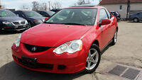 2002 Acura RSX PREMIUIM Coupe (2 door)-CERTIFIED & E-TESTED!