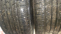 Save Big!! 2 all season tires P225/60R17. 90%left. $140 for 2