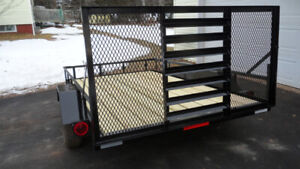 6' x 10' NEW No Tax utility (side by side) Trailer