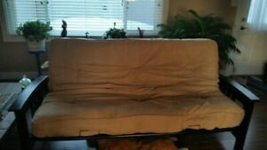 Futon with new cover