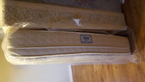 Brand New Sealy Memory Foam Queen Mattress and Boxspring